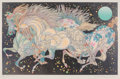 Prints & Multiples, Guillaume Azoulay (b. 1949). Stardust, 2017. Serigraph in colors on wove paper. 19-1/2 x 31 inches (49.5 x 78.7 cm) (ima...