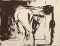 Prints & Multiples, Eric Fischl (b. 1948). Annie, Gwen, Lilly, Pam and Tulip (Bending Woman), 1986. Lithograph in colors on paper. 15 x 20 i...