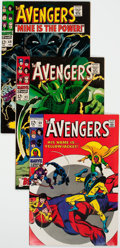 Silver Age (1956-1969):Superhero, The Avengers Group of 6 (Marvel, 1967-72) Condition: Average VF.... (Total: 6 Comic Books)
