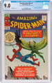 The Amazing Spider-Man #7 (Marvel, 1963) CGC VF/NM 9.0 Off-white to white pages