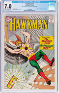 Silver Age (1956-1969):Superhero, Hawkman #4 (DC, 1964) CGC FN/VF 7.0 Off-white to white pages....