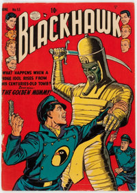 Blackhawk #53 (Quality, 1952) Condition: VG+