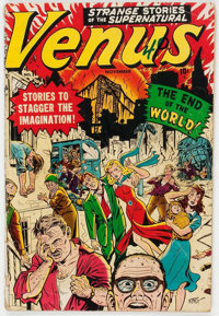 Venus #11 (Timely, 1950) Condition: GD-