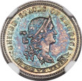 Patterns, 1870 10C Standard Silver Ten Cents, Judd-843, Pollock-942, Low R.6, PR66 NGC....