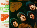Music Memorabilia:Posters, Beatles Amazingly Rare Capitol Records Rubber Soul RecordStore Counter Promotional Display (US, 1965)....