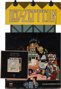 Music Memorabilia:Posters, Led Zeppelin Promotional Stand-Up Counter Display For The AlbumThe Song Remains The Same (Swan Song,1976)....