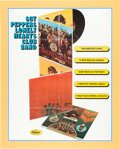 Music Memorabilia:Posters, Beatles Sgt. Peppers Lonely Hearts Club Band Capitol Records Promotional Poster (US, 1967)....