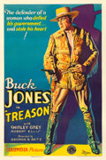"Movie Posters:Action, Treason (Columbia, 1933). One Sheet (27.25"" X 41.2..."