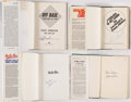 Autographs:Photos, Stolen Base Legends Signed Book Lot of 4 with Brock, Henderson,& Wills.. ...