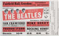 Music Memorabilia:Posters, Beatles Fairfield Hall Concert Flyer (John Smith Presents 1963). Rare....