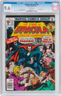 Bronze Age (1970-1979):Horror, Tomb of Dracula #54 (Marvel, 1977) CGC NM+ 9.6 White pages....