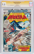 Bronze Age (1970-1979):Horror, Tomb of Dracula #57 Signature Series (Marvel, 1977) CGC NM/MT 9.8White pages....