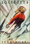"""Movie Posters:Action, Rocketeer (Walt Disney Pictures, 1991). One Sheet (27"""" X 41"""") DS Advance, & Video One Sheet (26"""" X 41"""") SS Advance. Action.... (Total: 2 Items)"""