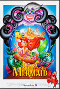 "Movie Posters:Animation, The Little Mermaid (Buena Vista, 1989). One Sheet (27"" X 41"") DSAdvance. John Alvin Artwork. Animation.. ..."