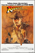 "Movie Posters:Adventure, Raiders of the Lost Ark (Paramount, 1981). One Sheet (27"" X 41"") Richard Amsel Artwork. Adventure.. ..."