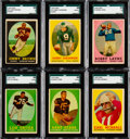 Football Cards:Sets, 1958 Topps Football Complete Set (132). ...