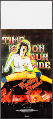 "Let's Spend the Night Together (Gaumont, 1983). Italian Locandina (12"" X 27.5""). Rock and Roll"