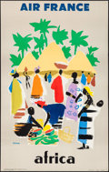 """Movie Posters:Miscellaneous, Air France: Africa (Air France, 1959). French Travel Poster (24.25""""X 39.5""""). Miscellaneous.. ..."""