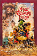 "Movie Posters:Comedy, Muppet Treasure Island & Other Lot (Buena Vista, 1996). OneSheets (2) (27"" X 40"") DS, Drew Struzan Artwork. Comedy."