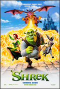 "Movie Posters:Animation, Shrek (DreamWorks, 2001). International One Sheets (2) (27"" X 40"")DS Advance & Regular. Animation.. ... (Total: 2 Items)"