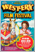 """Movie Posters:Western, Western Film Festival (Cinemark Theatres, 2001-2002). AutographedSpecial Posters (26.5"""" X 39.5"""") SS, Mr. Chero Artwork. Wes...(Total: 2 Items)"""
