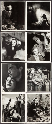 "Days of Glory (RKO, 1944). Linen Backed Keybook Photos (14) (8"" X 9.75"" - 8"" X 10""). War. ... (Total..."