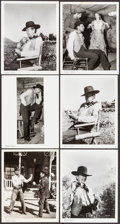 """Movie Posters:Western, Man of the West (United Artists, 1958). Photos (10) (Approximately8"""" X 10""""). Western.. ... (Total: 10 Items)"""