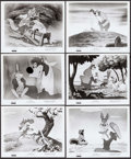 """Movie Posters:Animation, Song of the South (Buena Vista, R-1973). Photos (10) (8"""" X 10"""").Animation.. ... (Total: 10 Items)"""