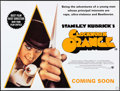"Movie Posters:Science Fiction, A Clockwork Orange (Warner Brothers, R-2000). British Quad (30"" X40"") SS Teaser Style, Philip Castle Artwork. Science Ficti..."