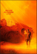 "Movie Posters:Science Fiction, Blade Runner 2049 (Warner Brothers, 2017). Teaser One Sheet (27"" X40"") DS Harrison Ford Style. Science Fiction.. ..."