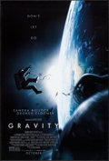 "Movie Posters:Science Fiction, Gravity & Other Lot (Warner Brothers, 2013). One Sheets (2)(27"" X 40"") DS Advance. Science Fiction.. ... (Total: 2..."