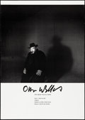 "Movie Posters:Miscellaneous, Orson Welles Show (1987). Japanese Poster (28.5"" X 40.5"") TakayukiOgawa Photograph. Miscellaneous.. ..."