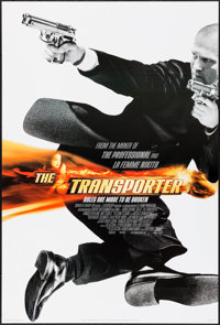 """The Transporter & Others Lot (20th Century Fox, 2002). One Sheets (3) (27"""" X 40"""") DS International Style A..."""