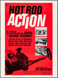"Movie Posters:Sports, Hot Rod Action (Cinerama Releasing, 1969). Poster (30"" X 40""). Sports.. ..."