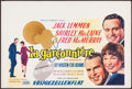 "Movie Posters:Comedy, The Apartment (United Artists, 1960). Horizontal Belgian (14"" X21""). Comedy.. ..."