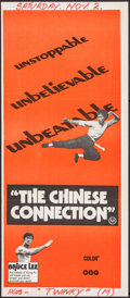 "Movie Posters:Action, The Chinese Connection (BEF, 1973). Australian Daybill (13"" X 30"").Action.. ..."