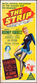 "Movie Posters:Film Noir, The Strip (MGM, 1951). Australian Daybill (13.5"" X 30""). FilmNoir.. ..."