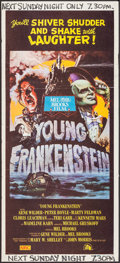 "Movie Posters:Comedy, Young Frankenstein (20th Century Fox, 1974). Australian Daybill(13.5"" X 30"") John Alvin Artwork. Comedy.. ..."
