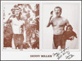 """Movie Posters:Miscellaneous, Denny Miller Autograph Poster Lot (Various, 1980s/1990s).Autographed Posters (2) (18.5"""" X 24.5"""" & 23.25"""" X 17.25""""),Poster ... (Total: 4 Items)"""