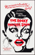 """Movie Posters:Rock and Roll, The Rocky Horror Show & Other Lot (Belasco Theater, 1975).Theater Window Cards (2) (14"""" X 22""""). Rock and Roll.. ....."""