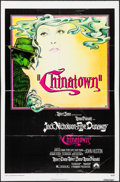"""Movie Posters:Mystery, Chinatown (Paramount, 1974). One Sheet (27"""" X 41"""") & Photos (4)(8"""" X 10""""). Jim Pearsall Artwork. Mystery.. ... (To..."""