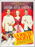 "Movie Posters:Musical, High Society (MGM, R-1980s). French Grande (46"" X 62"") Roger SoubieArtwork. Musical.. ..."