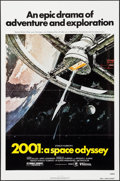 """Movie Posters:Science Fiction, 2001: A Space Odyssey (MGM, R-1980). One Sheet (27"""" X 41"""") RobertMcCall Artwork. Science Fiction.. ..."""