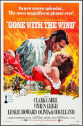 "Movie Posters:Academy Award Winners, Gone with the Wind (MGM, R-1974). One Sheet (27"" X 41"") HowardTerpning Artwork. Academy Award Winners.. ..."