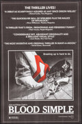 """Movie Posters:Thriller, Blood Simple (Circle Films, 1984). Posters (10) Identical (24"""" X36.5""""). Thriller.. ... (Total: 10 Items)"""