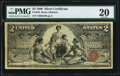 Large Size:Silver Certificates, Fr. 248 $2 1896 Silver Certificate PMG Very Fine 20.. ...
