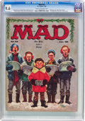 Magazines:Mad, MAD #52 (EC, 1960) CGC NM+ 9.6 Cream to off-white pages....