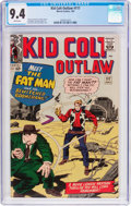 Silver Age (1956-1969):Western, Kid Colt Outlaw #117 (Marvel, 1964) CGC NM 9.4 White pages....