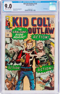 Silver Age (1956-1969):Western, Kid Colt Outlaw #120 (Marvel, 1965) CGC VF/NM 9.0 Off-white towhite pages....