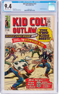 Silver Age (1956-1969):Western, Kid Colt Outlaw #121 (Marvel, 1965) CGC NM 9.4 Cream to off-whitepages....